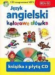 Język angielski - kolorowe słówka Książka+mp3CD
