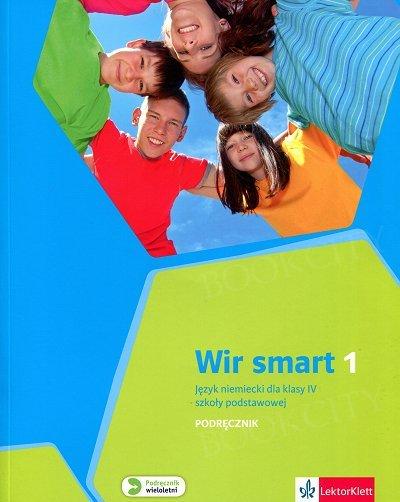 Wir Smart 1 - klasa 4 Podręcznik z płytą CD