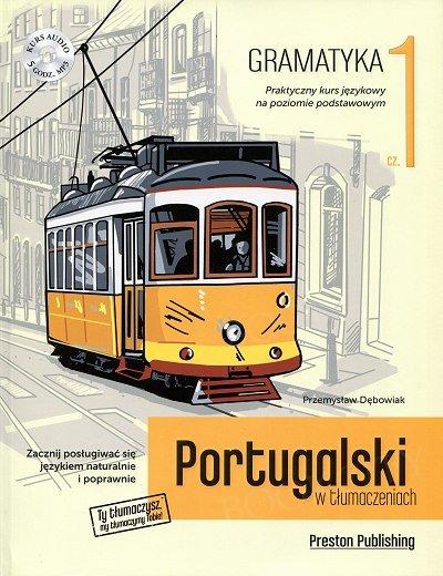Portugalski w tłumaczeniach. Gramatyka 1 Książka+MP3