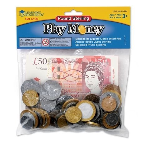 Coin & Note Play Money Pack