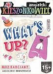 Kieszonkowiec angielski What's up? (15+) Quiz karciany