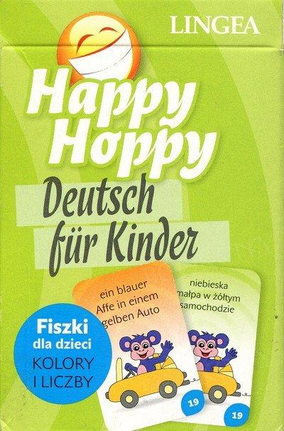 Happy Hoppy Fiszki dla dzieci: kolory i liczby