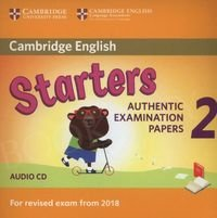 Cambridge English Starters 2 (2018) Audio CD