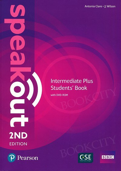 Speakout Intermediate Plus (2nd edition) Student's Book with DVD-ROM (bez kodu)