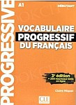 Vocabulaire Progressif Du Francais Débutant 3e Edition podręcznik + CD