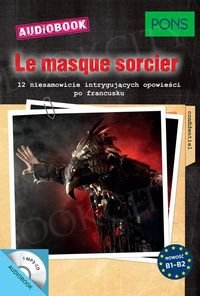 La masque sorcier Książka + CD mp3