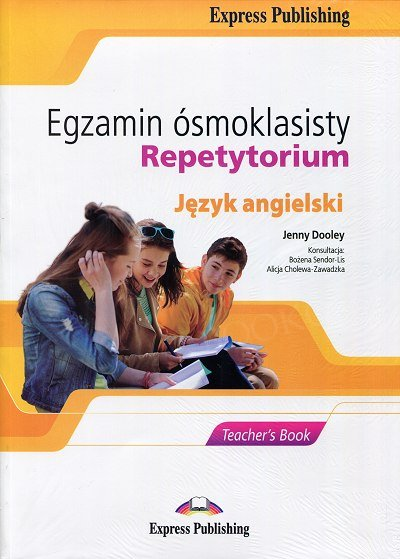 Egzamin ósmoklasisty. Repetytorium książka nauczyciela