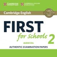 Cambridge English First for Schools 2 FCE (2016) CD