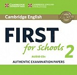 Cambridge English First for Schools 2 FCE (2016) CD