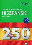 250 ćwiczeń Gramatyka Hiszpański