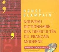 Nouveau Dictionnaire des difficultes du Francais moderne + płyta CD ROM
