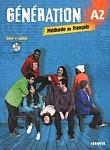 Generation A2 Pdręcznik + ćwiczenia + CD mp3 + DVD