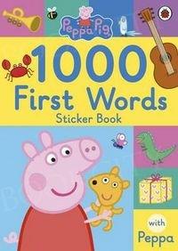 Peppa Pig 1000 First Words Sticker Book