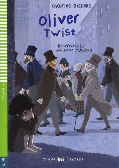 Oliver Twist Książka + audio online