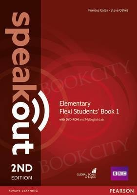 Speakout Elementary (2nd edition) Student's Book Flexi 1 with MyEnglishLab
