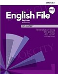 English File Beginner (4th Edition) Workbook without Key