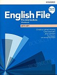 English File Pre-Intermediate (4th Edition) Workbook with Key