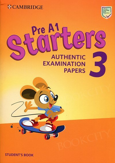 Cambridge English Pre A1 Starters 3 (2019) Student's Book