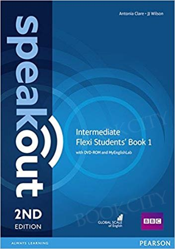 Speakout Intermediate (2nd edition) Student's Book Flexi 1 with MyEnglishLab