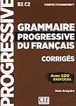 Grammaire Progressive du Français Perfect Klucz