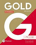 Gold B1 Preliminary New Edition Coursebook and MyEnglishLab Pack