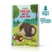 Martha and the Woolly Rhino Książka+audio online