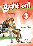 Right on! 3 Class Audio CDs (set of 3)