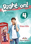Right on! 4 Class Audio CDs (set of 3)