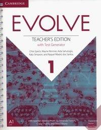 Evolve 1 Teacher's Edition with Test Generator