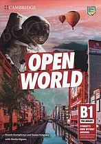 Open World B1 Preliminary Student's Book without Answers with Online Practice