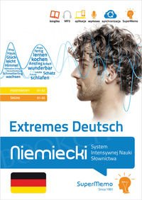 Extremes Deutsch Niemiecki System Intensywnej Nauki Słownictwa (poziom podstawowy A1-A2 i średni B1-B2) Książka + kod dostępu