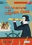 Czytam po angielsku The Adventures of Captain Cook / Przygody Kapitana Cooka Książka + mp3