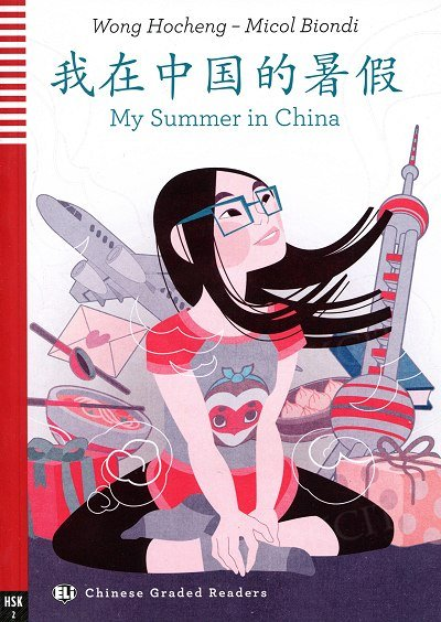My Summer in China Książka + audio mp3