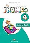 My Phonics 4 Consonant Blends Activity Book + Digi Material