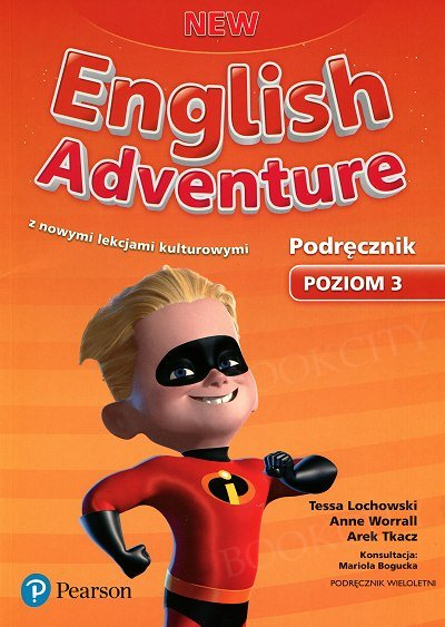 New English Adventure 3 Książka ucznia z kodem do eDesku