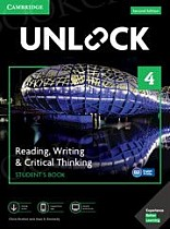 Unlock 4: Reading, Writing, & Critical Thinking Student's Book Mob App and Online Workbook w/ Downloadable Video
