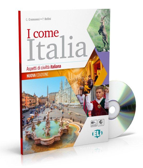 I come Italia - Aspetti di civiltà italiana Nuova Edizione Książka + CD