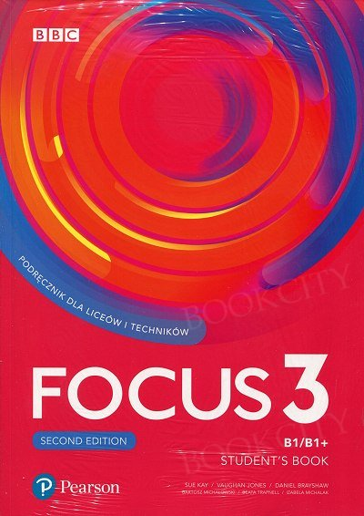 Focus 3 Second Edition Student's Book + kod (Digital Resources + Interactive eBook)