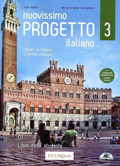 Nuovissimo Progetto italiano 3 Podręcznik + DVD