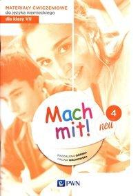 Mach mit! neu 4 (2020) Materiały ćwiczeniowe do języka niemieckiego dla klasy 7