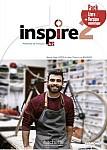 Inspire 2 Podręcznik + DVD-Rom + Parcours digital + kod (podręcznik online
