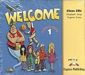 Welcome 1 Class Audio CDs  (set of 3)