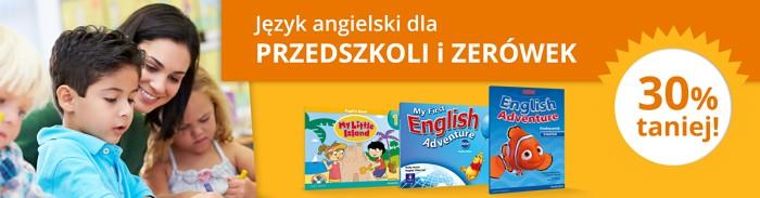 Rabat 30% - promocja wydawnictwa Pearson dla przedszkoli i zerówek
